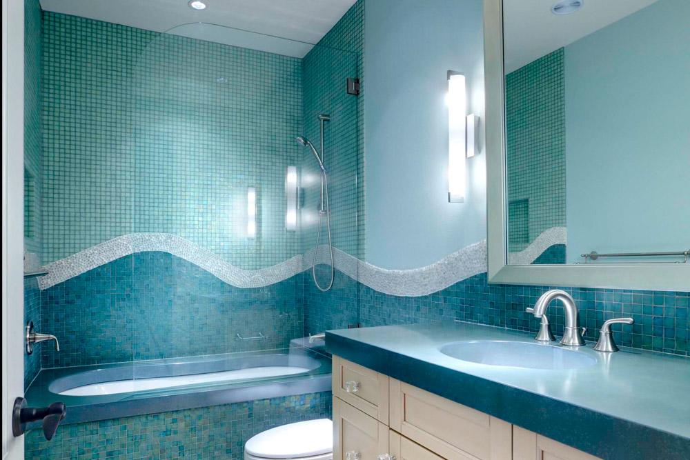 Mermaid Bath – Child's Bathroom Design