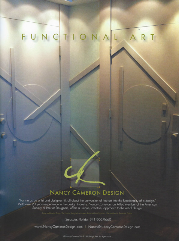 Functional Art Ad in Working Title Fine Art magazine